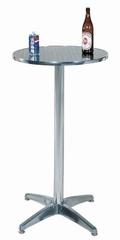 SOHO Aluminum round bar table 60*110cm