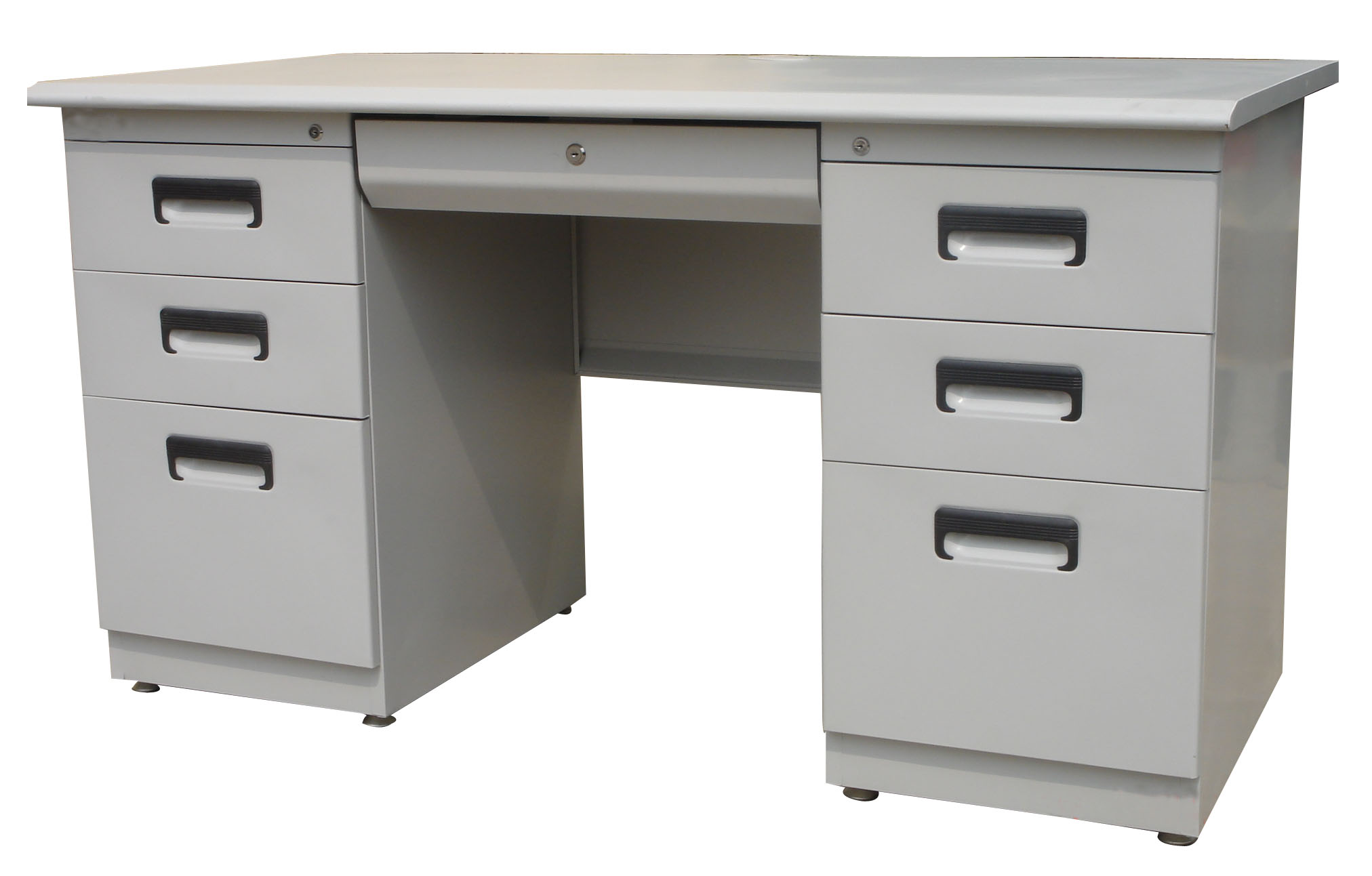 Soho Germany Office Desk Steel Frame Laminated Top W 6